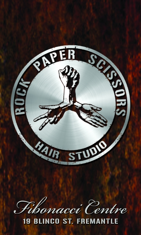 Rock Paper Scissors Hairdresser Fremantle