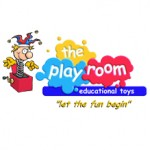 The playroom toy store logo