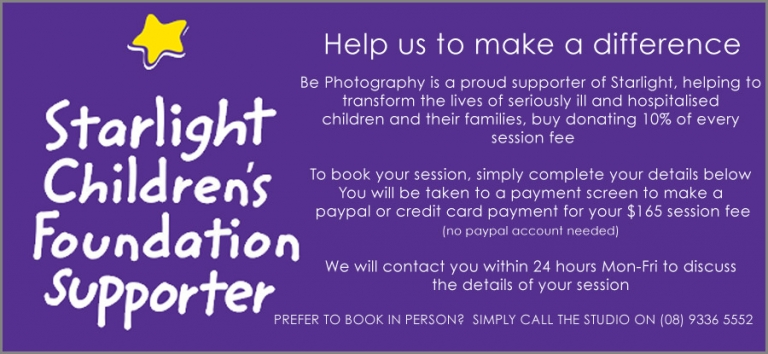 starlight children's foundation booking form
