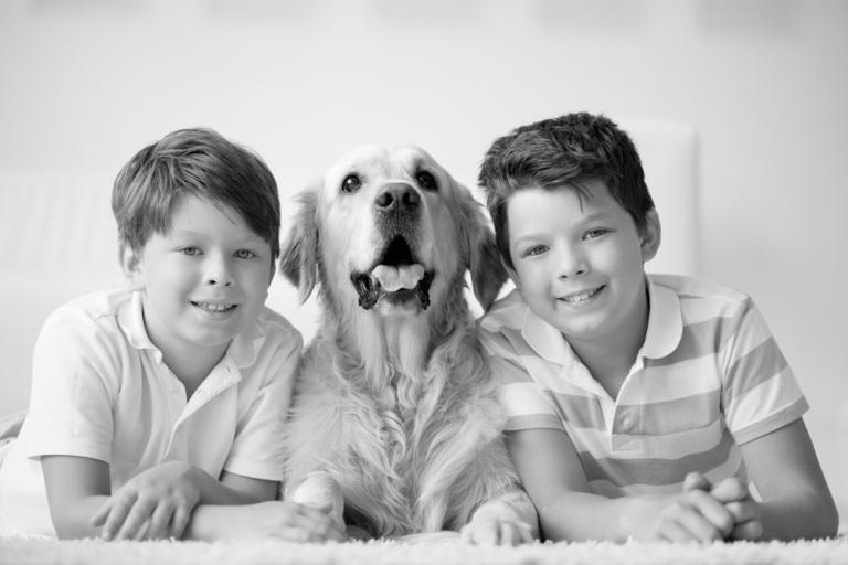 boys-dog