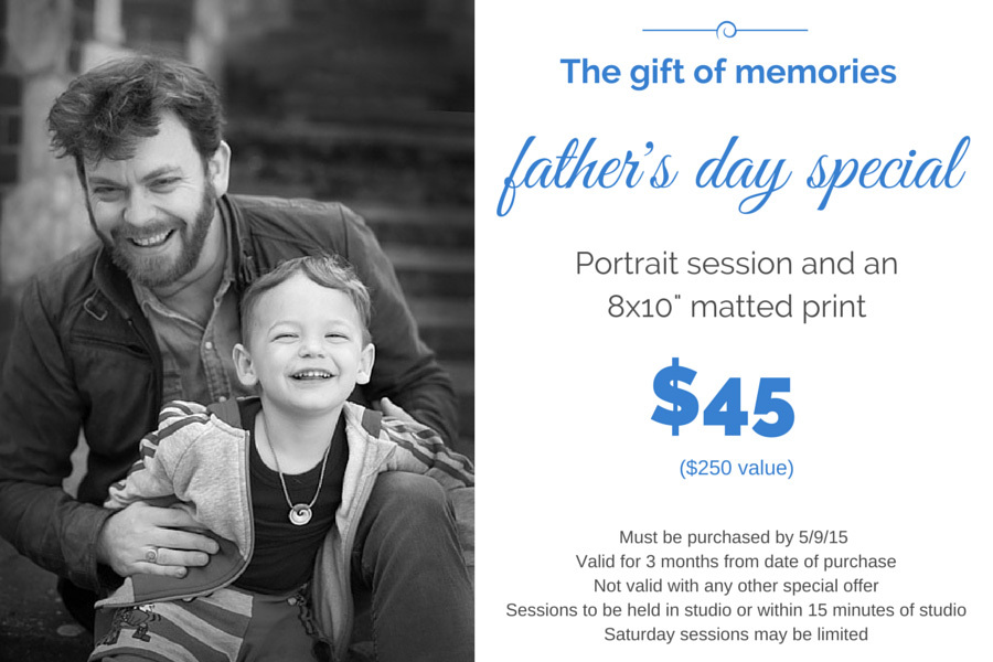 Father's Day Photography special offer