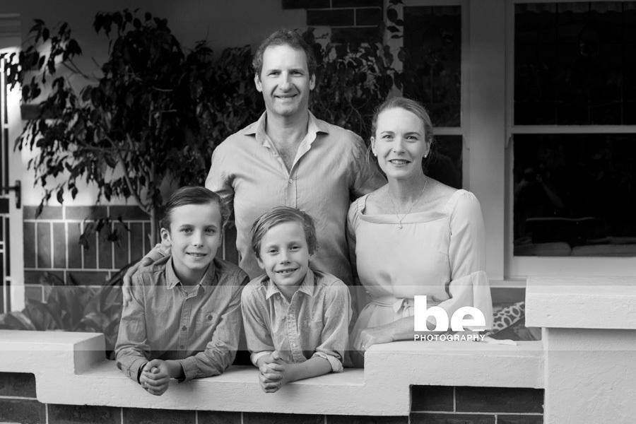family portrait in east fremantle
